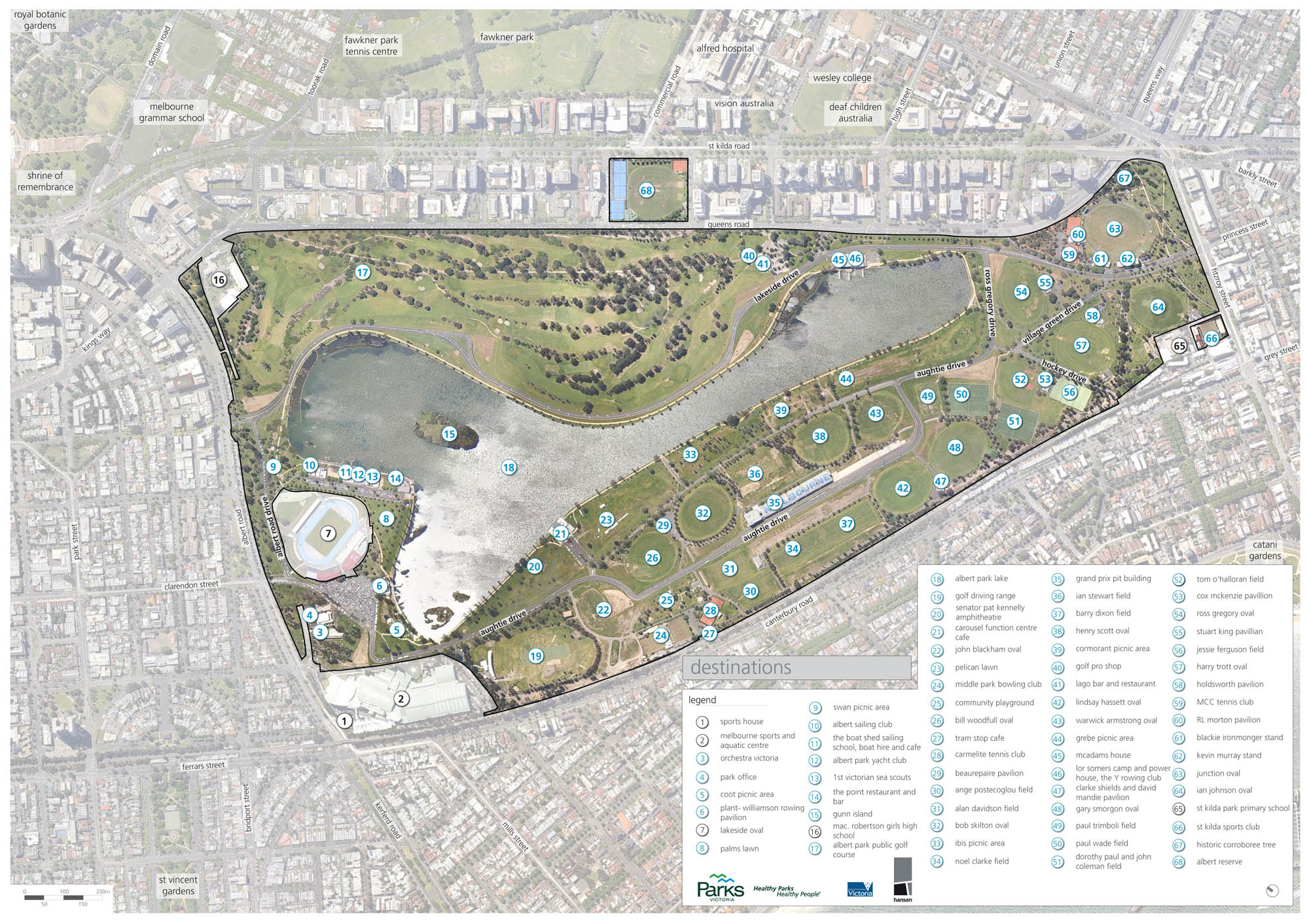 Albert Park renewal Draft Master Plan released